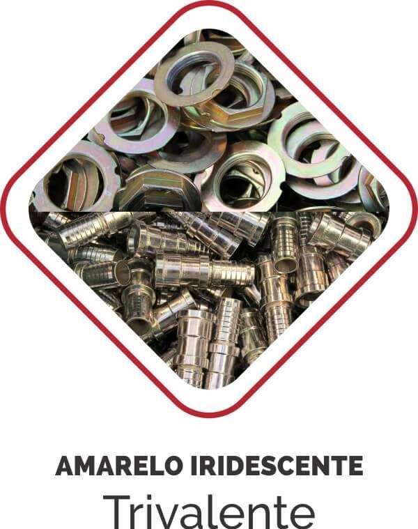 AMARELO IRIDESCENTE-zincagem-trivalente